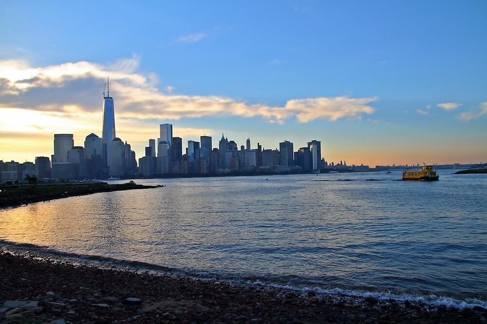 lower Manhattan by pmarella