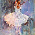 Ballet Painting - Dance Art Gallery by Ballet Dance-Artist