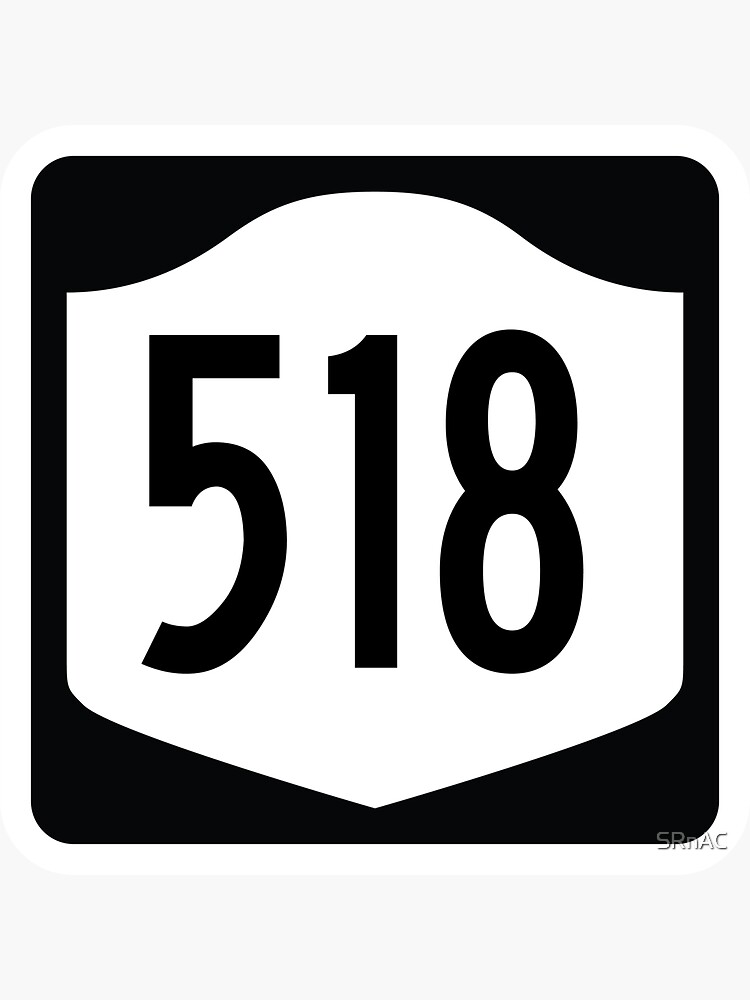 New York State Route 518 (Area Code 518) by SRnAC