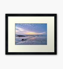 Winter Rush Framed Print