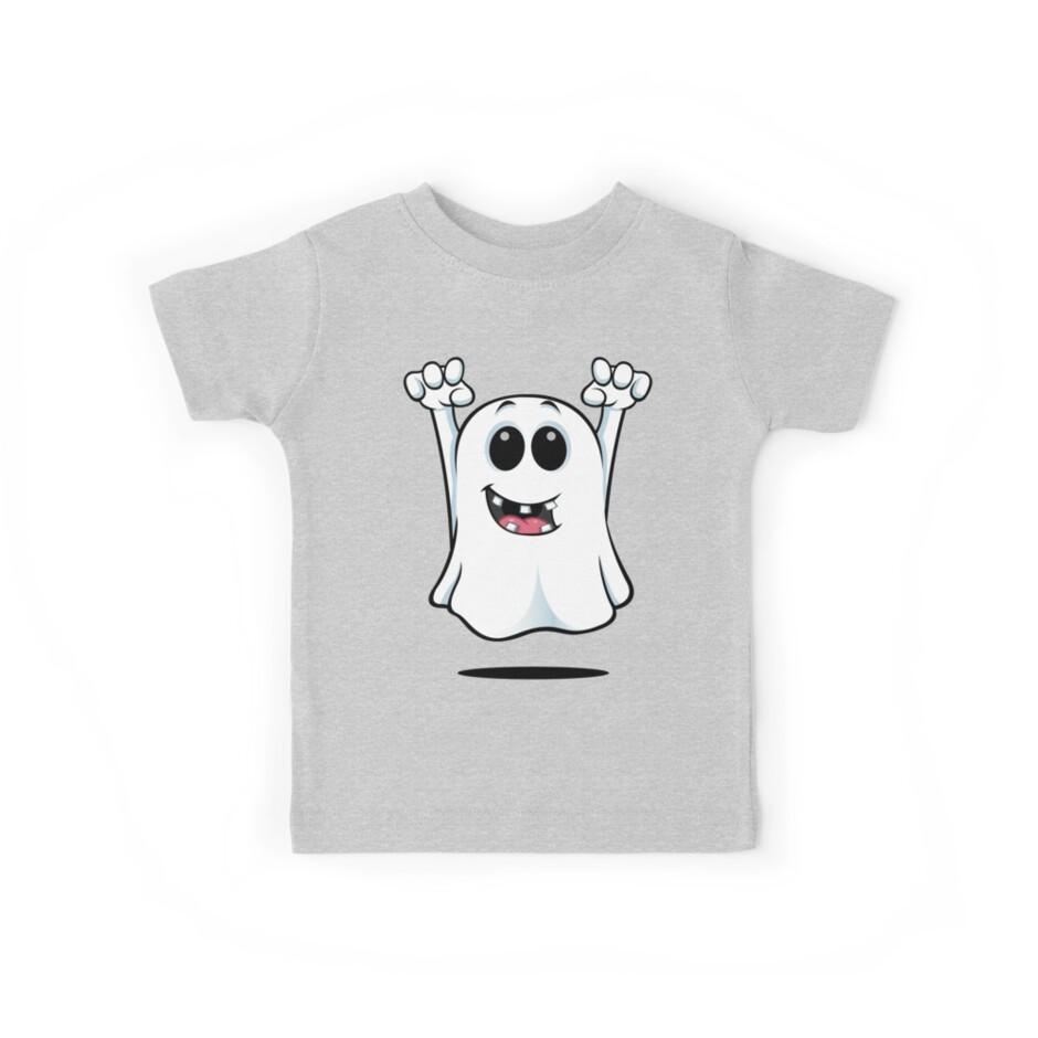 Cartoon Ghost - With Gapped Teeth by DesignWolf