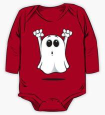 Cartoon Ghost - Going Boo! One Piece - Long Sleeve