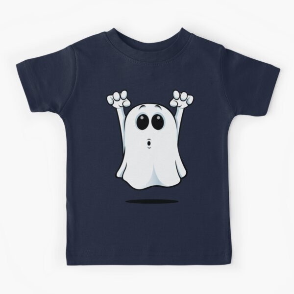 Cartoon Ghost - Going Boo! Kids T-Shirt