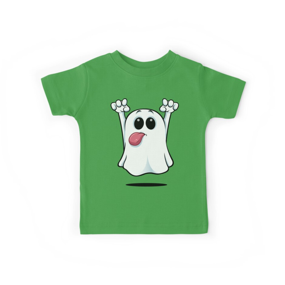 Cartoon Ghost - Sticking His Tongue Out. by DesignWolf