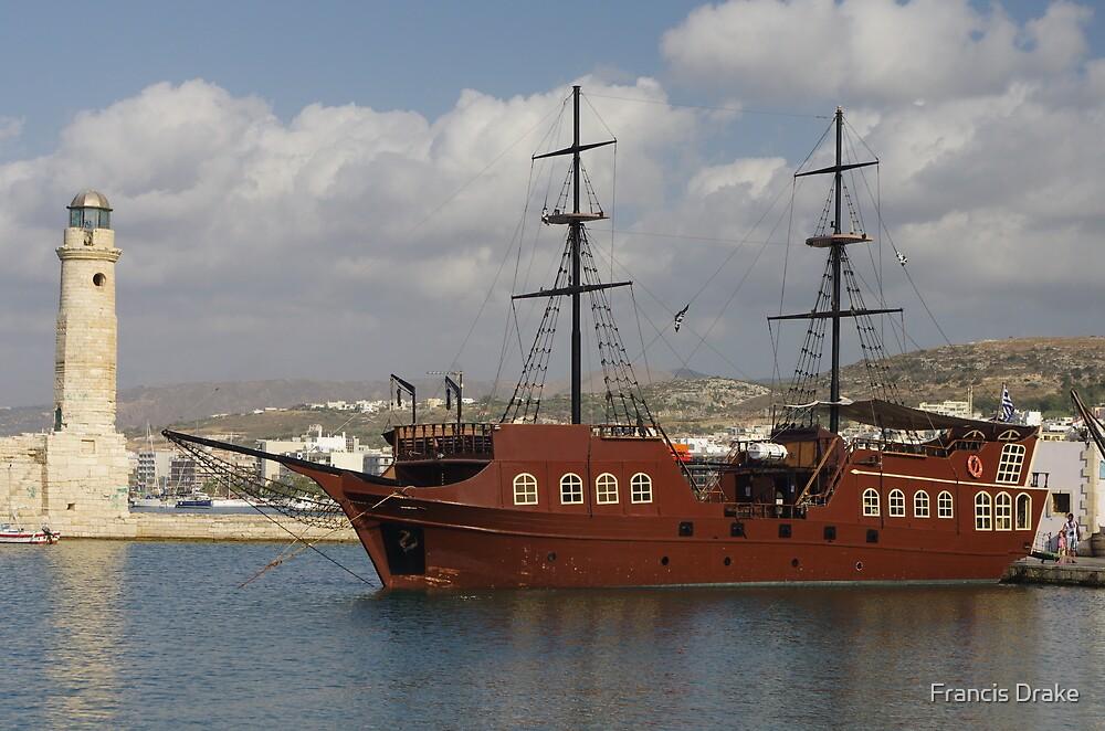 Pirate Galleon - Rethymno by Francis Drake