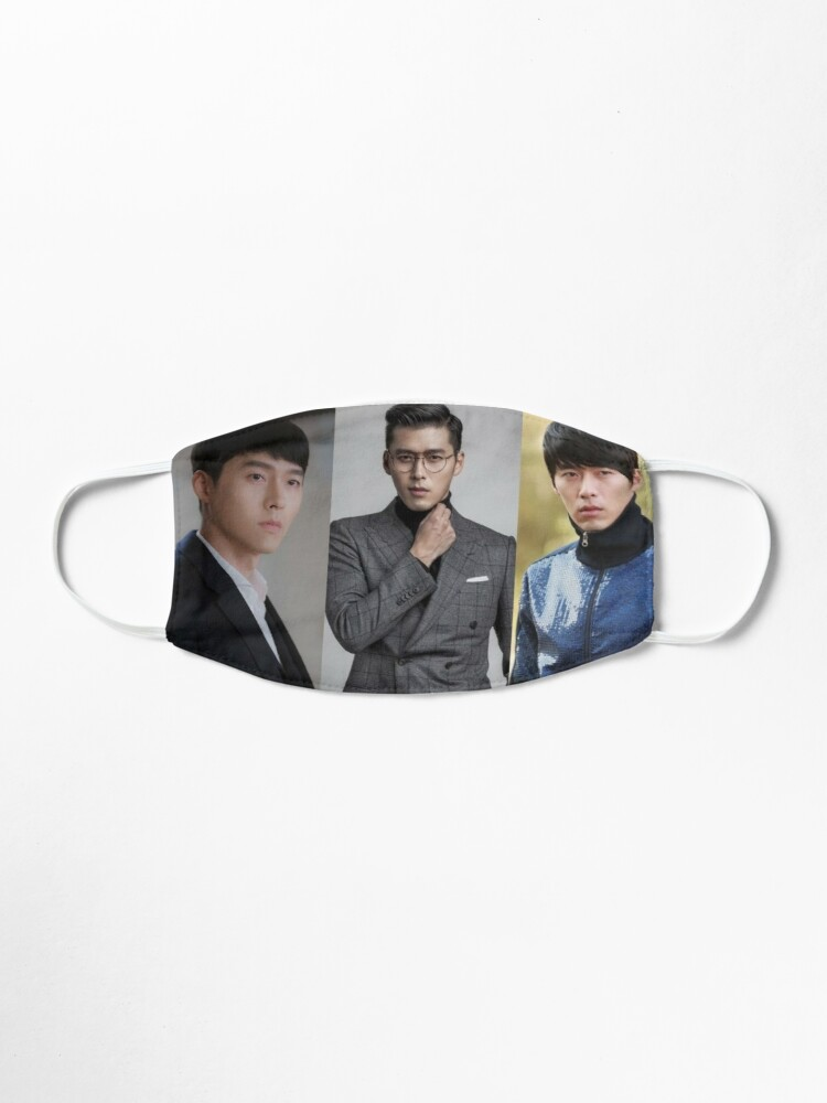 Alternate view of Hyun Bin Acting Evolution  Mask