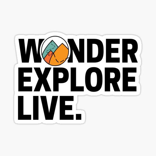 WONDER EXPLORE LIVE Sticker