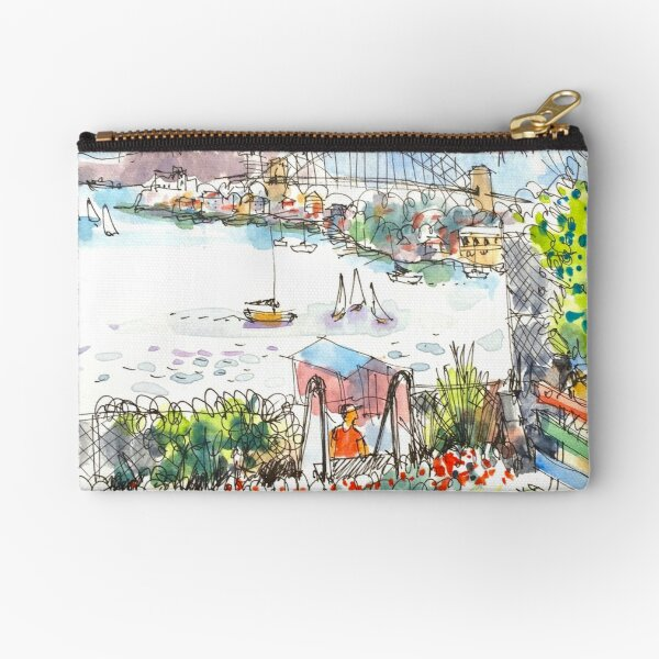 Sydney Harbour from Cockatoo Island Zipper Pouch
