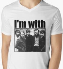 I'm with The Band Men's V-Neck T-Shirt