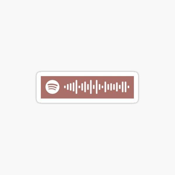 matd electra heart spotify scan Sticker