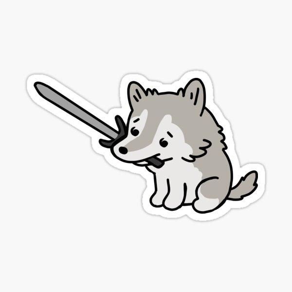 Tiny Wolf Sif Sticker