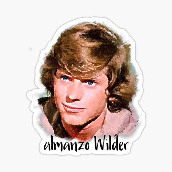 Almanzo Wilder Little House on the Prairie Sticker