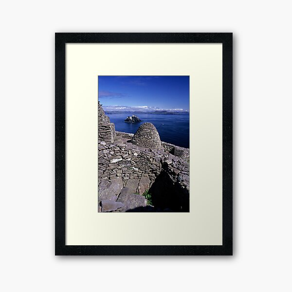 Towards Little Skellig from Skelling Michael Framed Art Print