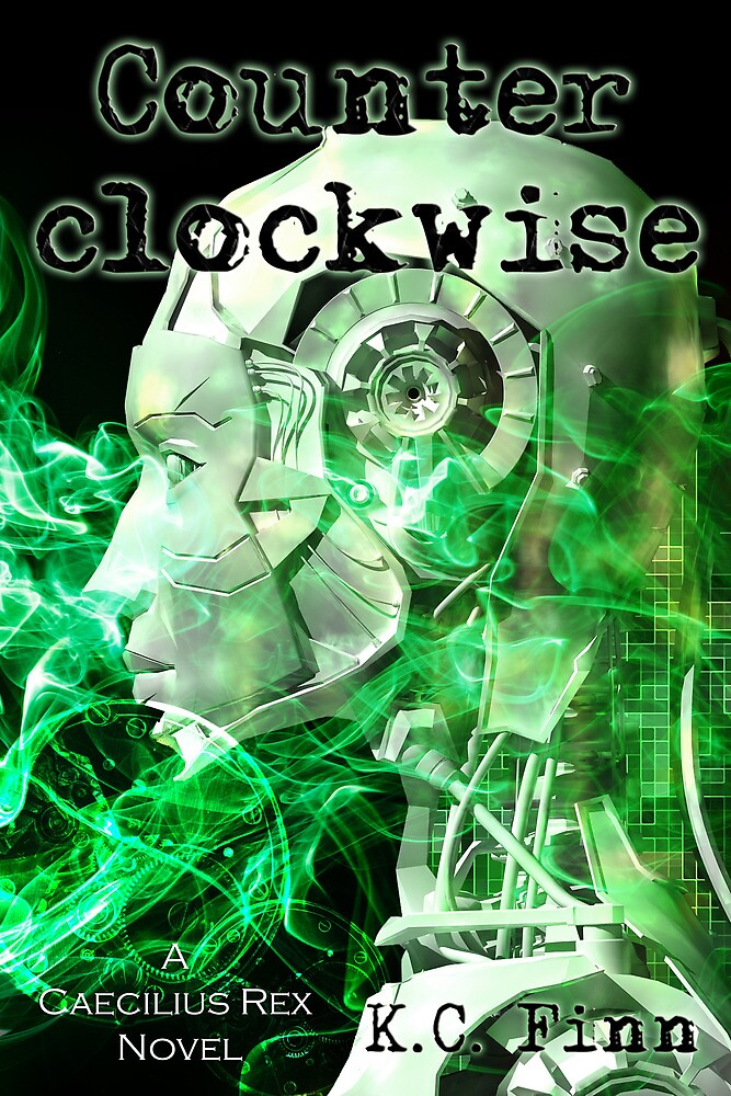 Counterclockwise Book Cover by kcfinn