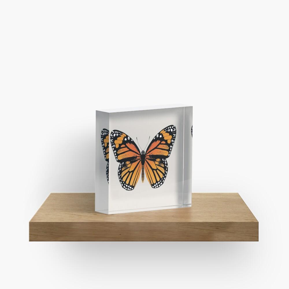 Monarch Butterfly | Vintage Butterflies |  Acrylic Block