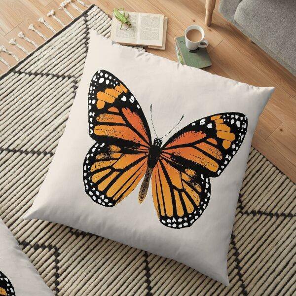 Monarch Butterfly   Vintage Butterflies    Floor Pillow
