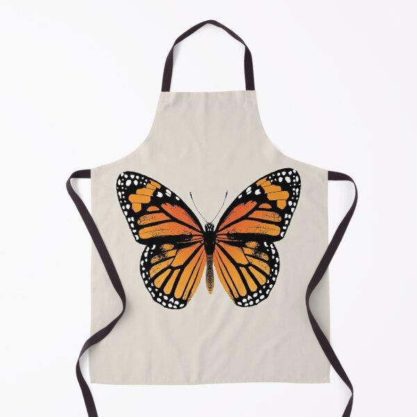 Monarch Butterfly | Vintage Butterflies |  Apron
