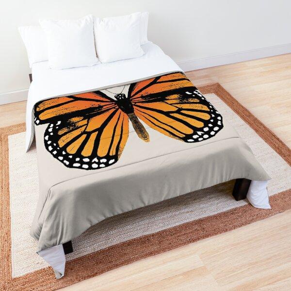 Monarch Butterfly   Vintage Butterflies    Comforter