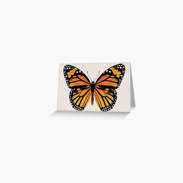 Monarch Butterfly | Vintage Butterflies |  Greeting Card