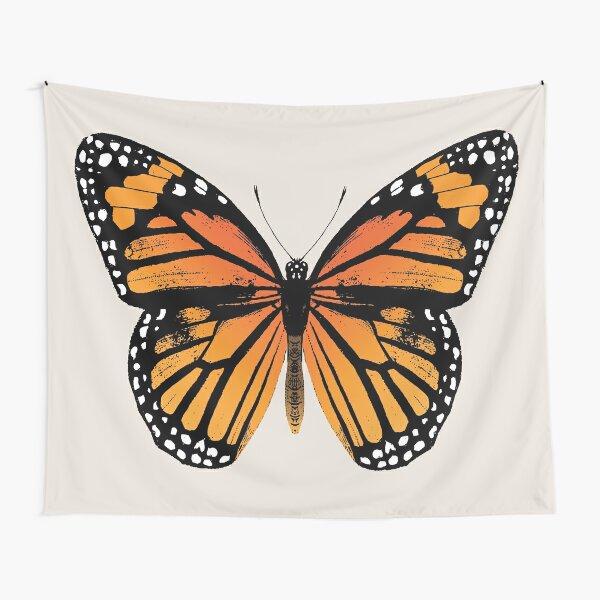 Monarch Butterfly   Vintage Butterflies    Tapestry