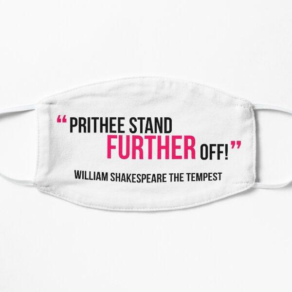 William Shakespeare Distance Mask
