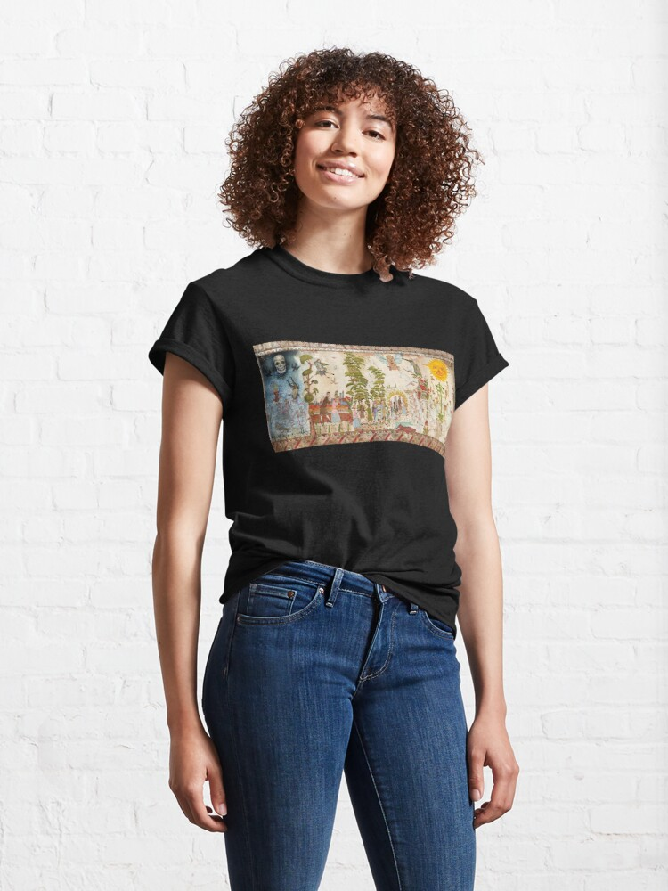 Alternate view of MIDSOMMAR MURAL Classic T-Shirt