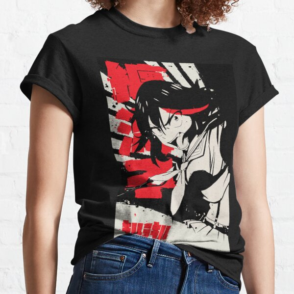 Ryūko Matoi | Kill la Kill Japanese Ink 纏 流子 Classic T-Shirt