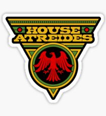 Dune HOUSE ATREIDES Sticker