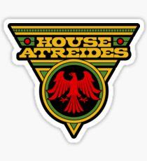 Dune HOUSE ATREIDES Sticker
