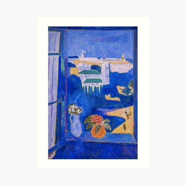 Window at Tangier by Henri Matisse Art Print
