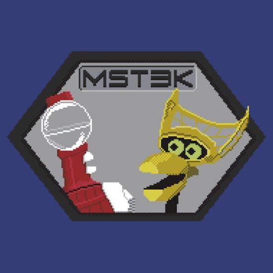TShirtGifter presents: Mystery Pixel Theater 3000 | Unisex T-Shirt