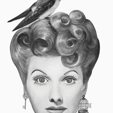 Lucille Bird Ball by ARTANGELL