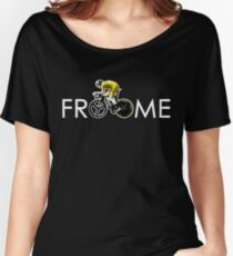 Chris Froome Tour de France 100th Winner 2013 Women's Relaxed Fit T-Shirt