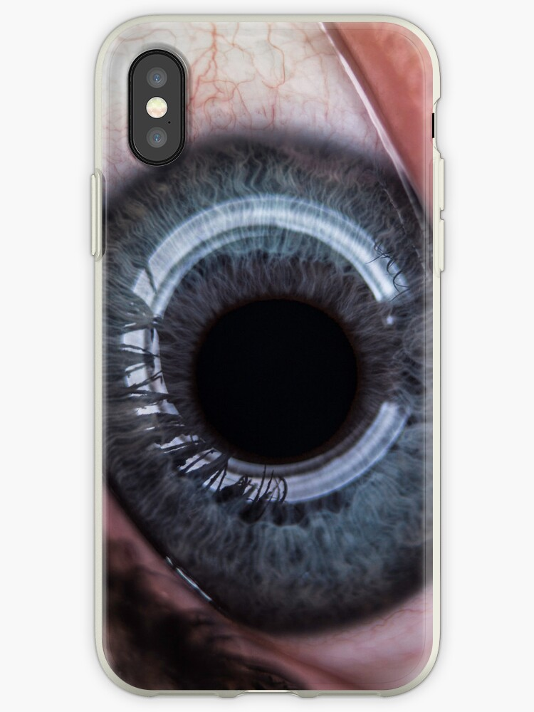 Eye iPhone Case by Nathan Colquhoun