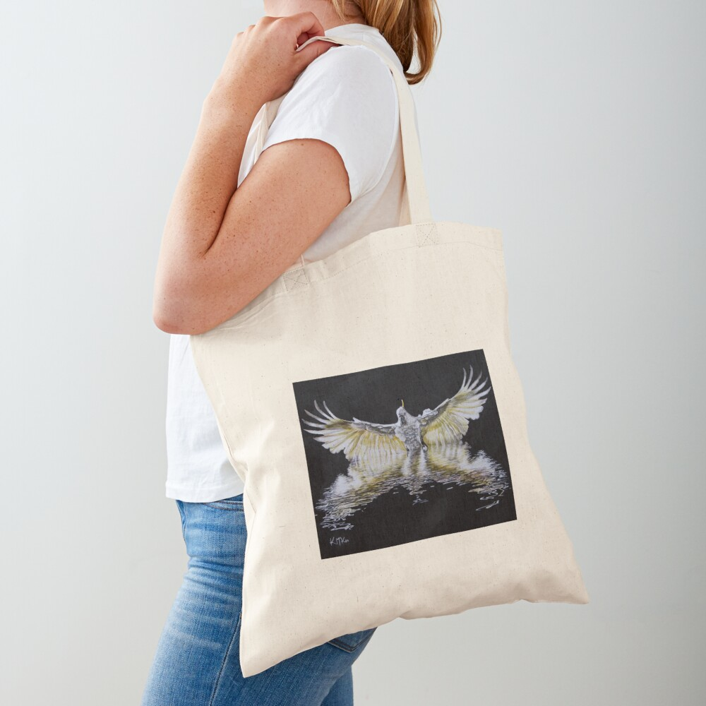 Cockatoo Landing Tote Bag