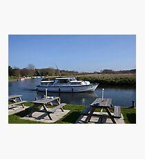 Norfolk Broads Cruiser Photographic Print