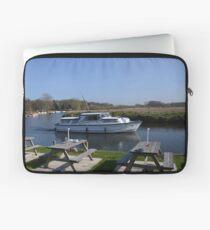 Norfolk Broads Cruiser Laptop Sleeve