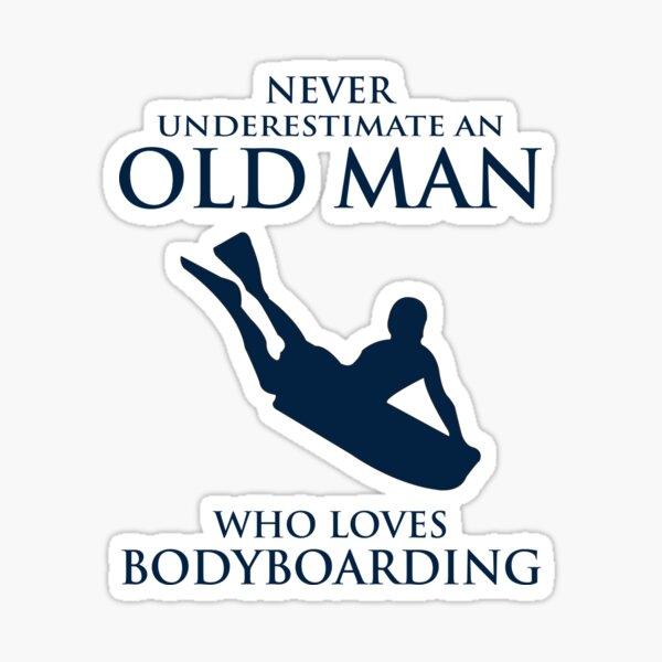 Bodyboarding Surf Summer Bodyboarder cadeau Sticker