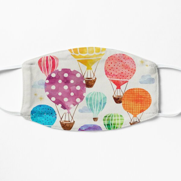 Hot Air Balloon Flat Mask