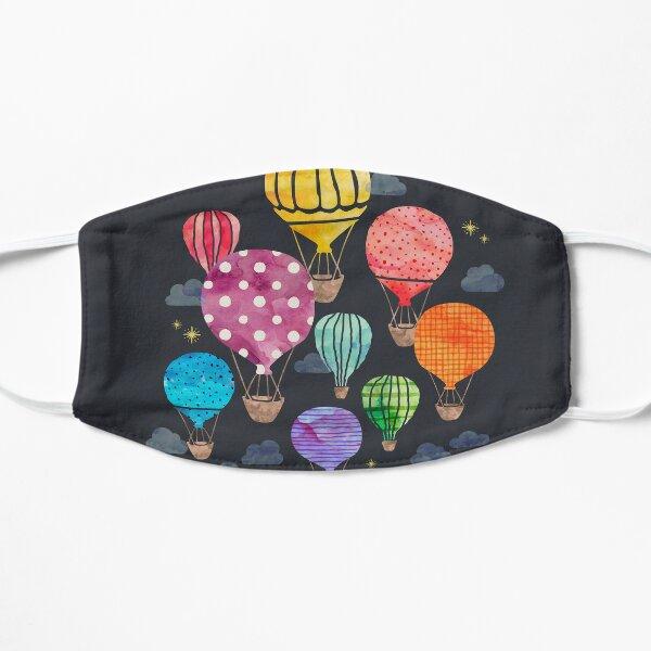 Hot Air Balloon Night Flat Mask