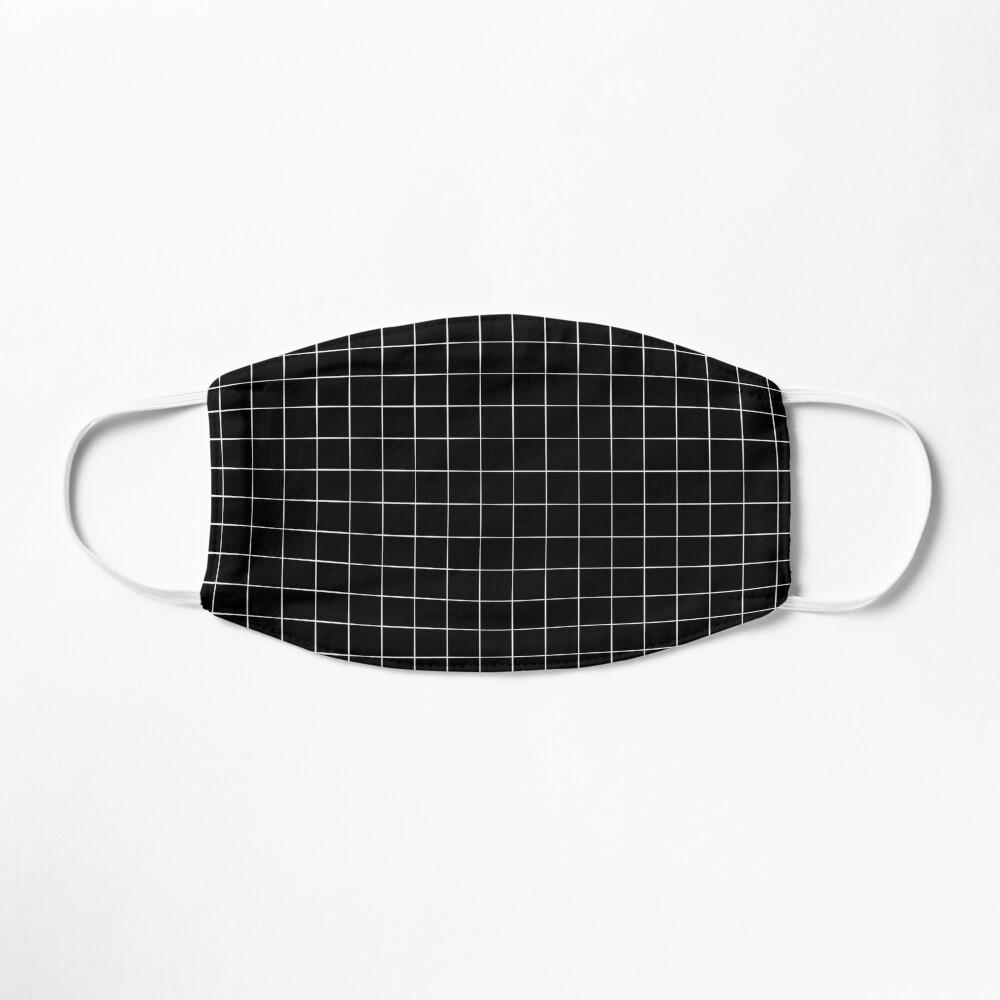 Black Grid Mask