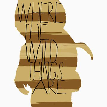 Wild Thing Silhouette by FoxAndMoose