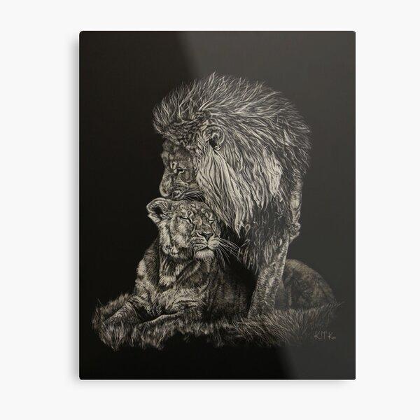 Lover's Pride Metal Print