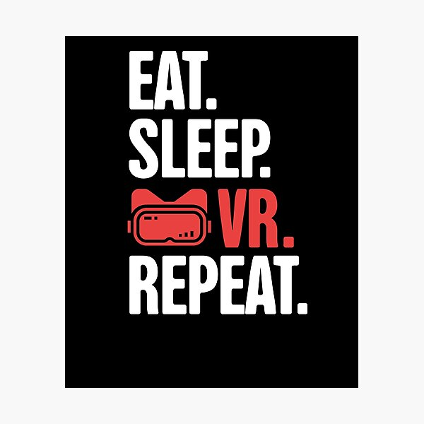 Virtual Reality Developer / Funny VR Gamer Photographic Print