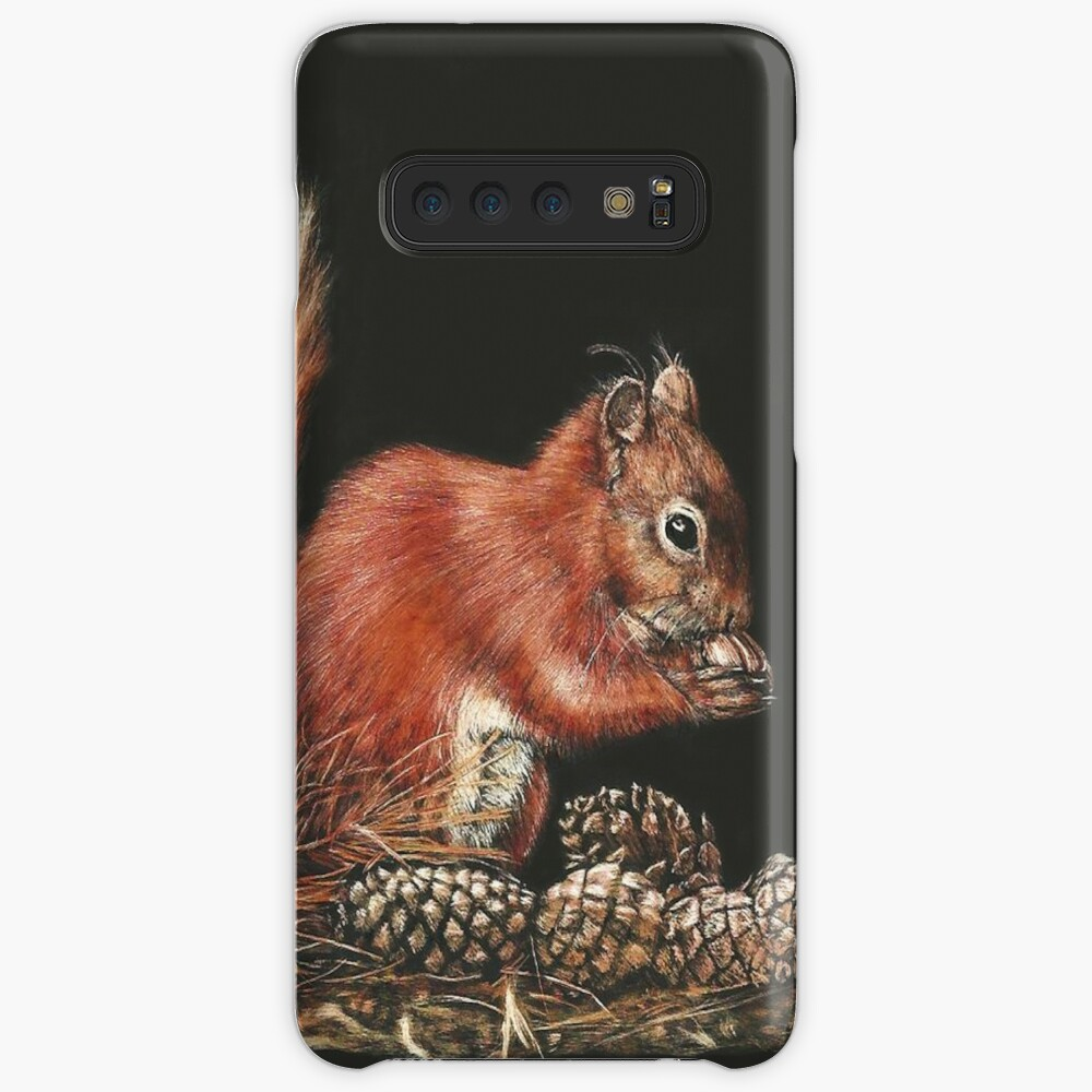 Wide Eyed and Bushy Tailed Case & Skin for Samsung Galaxy