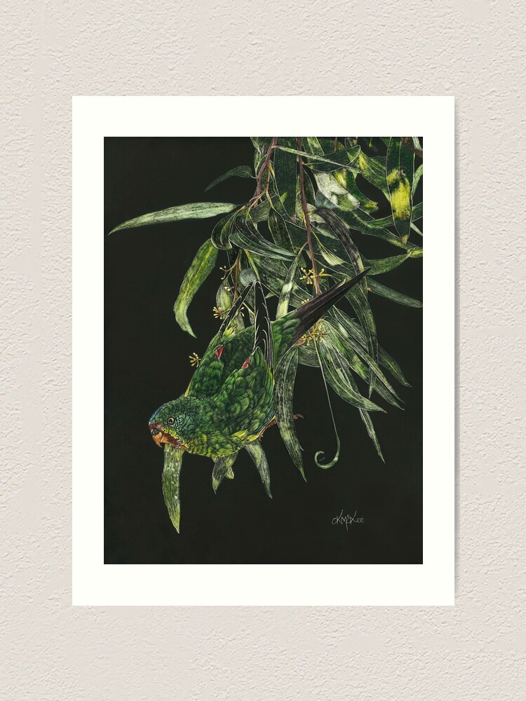 Alternate view of Find Me A Home Among The Gum Trees Art Print