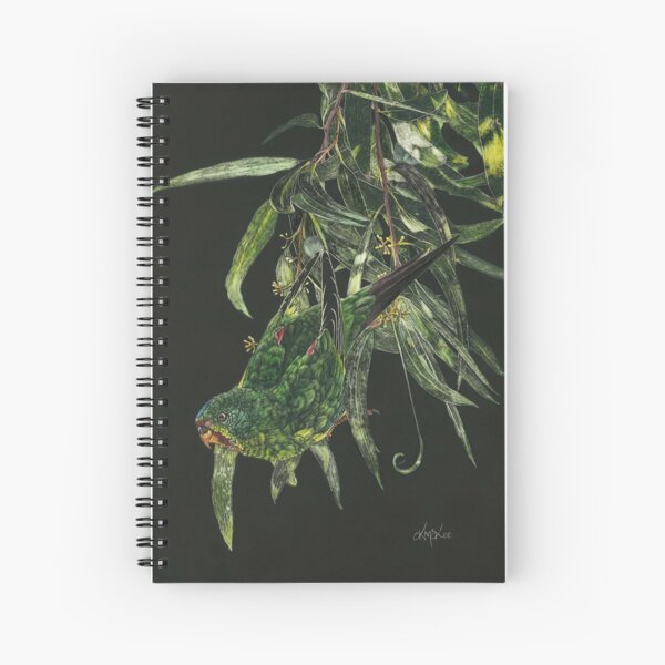 Find Me A Home Among The Gum Trees Spiral Notebook