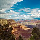 Clouds over the Grand Canyon by philw
