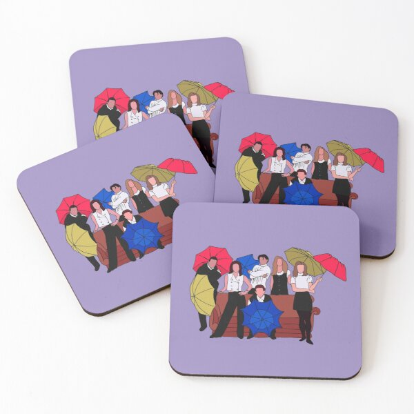 I'll be there for you Coasters (Set of 4)