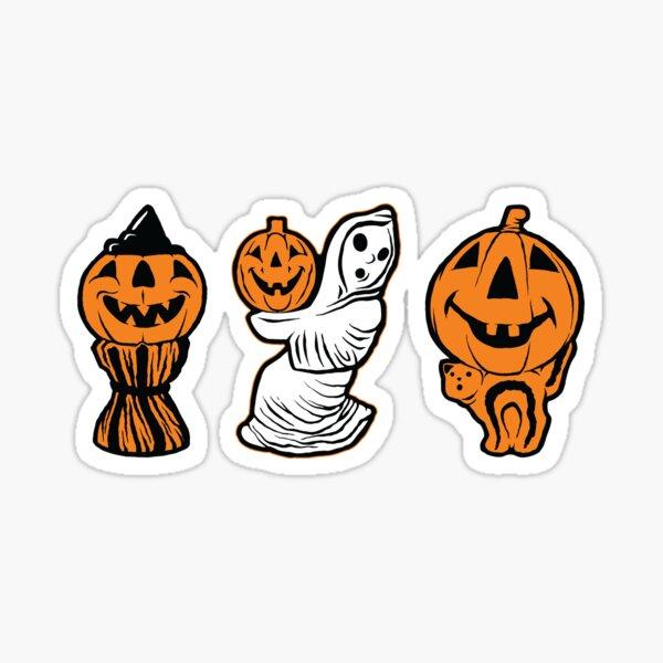 Vintage Halloween Blowmolds Sticker